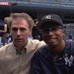 Ken Browne and Bernie Williams
