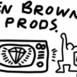 Celebrated NYC graffiti artist Keith Haring designed this logo in 1985.  Ken Browne worked with Keith to bring his first animations to the Times Square Diamond Vision video billboard - the first of its kind in the US.